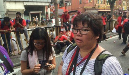 Wartawan Malaysiakini Cabut Lari, Padah Terlebih Spin