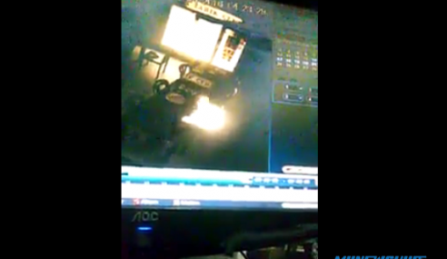 Video: Cahaya Misteri 'Meraba Makanan' Berjaya Dirakam?