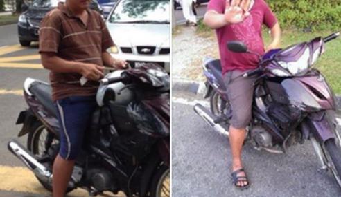 Lelaki Pura-Pura Kemalangan Kemudian Minta Ganti Rugi