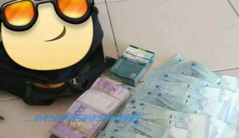 Lelaki Dapat Ganjaran RM5,000 Kerana Sikap Jujur