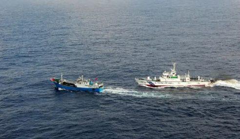 157 Buah Kapal Asing Dikesan Di Luar Perairan M'sia Sejak 5 Tahun Lalu