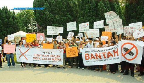 Rakyat Kajang Gesa Hentikan Projek Mega Rumah Bakar Mayat