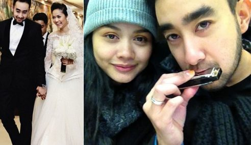 Peminat Sabah Bergambar Dengan Suami, Tag FB Liyana Jasmay