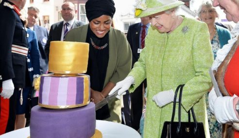 Kek Hari Lahir Ratu Elizabeth II Dibuat Wanita Muslim