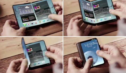 Samsung Bakal Perkenal Telefon Boleh Lentur/Lipat