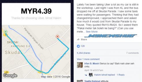 Perangai Pemandu Teksi Malaysia Masih Tak Berubah