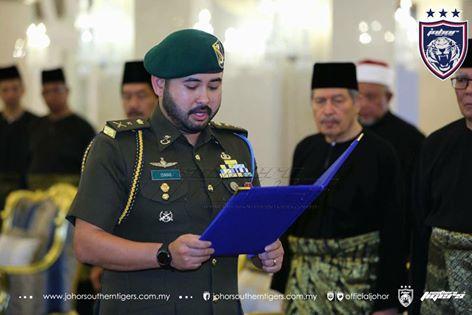 Tunku Ismail Diisytihar Pemangku Raja Johor