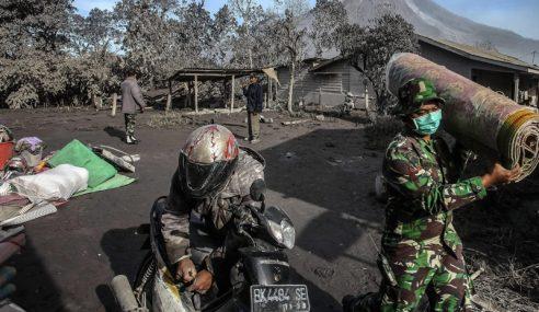 Korban Letusan Gunung Sinabung Meningkat