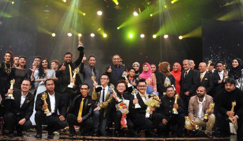 Trofi Anugerah Seri Angkasa 2016 Banyak 'Disapu' RTM