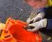 Anggota Bomba Selamatkan Anak Itik Jatuh Longkang