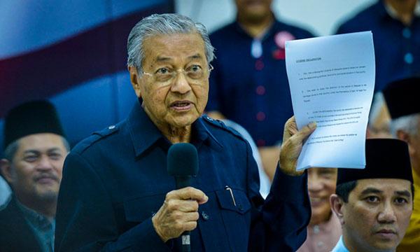 Deklarasi Mahathir Tidak Dapat Sambutan Di Kepala Batas