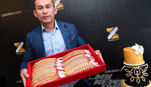 Emas Di Zakaria & Sons II Lebih Murah, GST Ditanggung