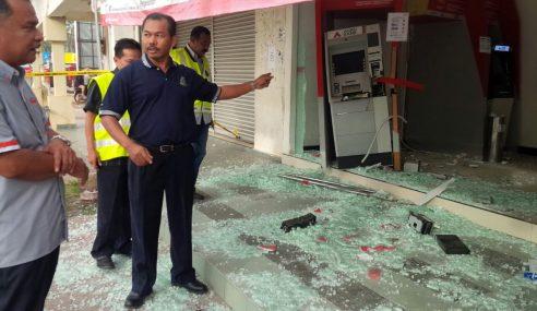 Bunyi Penggera Gagalkan Cubaan Larikan Mesin ATM