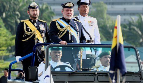 Sultan Ibrahim Cadang Kerajaan Johor Hidupkan Semula Pasukan JVF