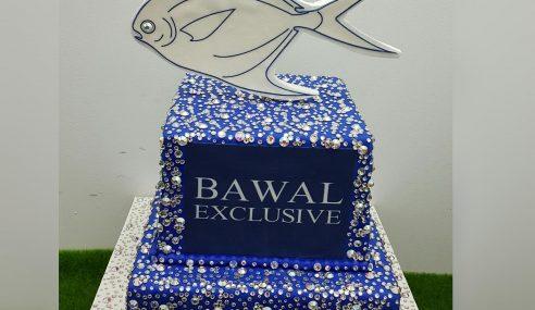 Kek Ikan Bawal Ini Berharga Hampir RM16,000!