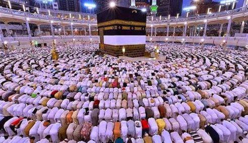 Masjidil Haram Sediakan Tempat Cas Telefon Bimbit Untuk Jemaah