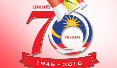 Kesetiaan Dan Pengorbanan Faktor Kekuatan UMNO Selama 70 Tahun