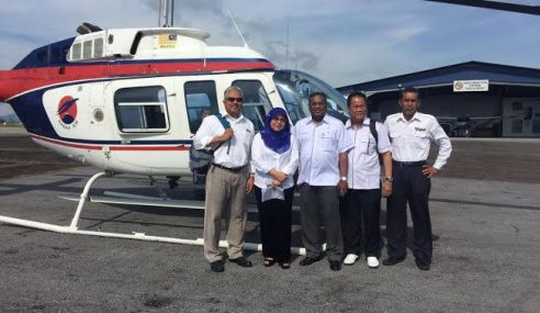 Heli Bawa Timbalan Menteri, MP, Hilang Dari Radar Di Sarawak