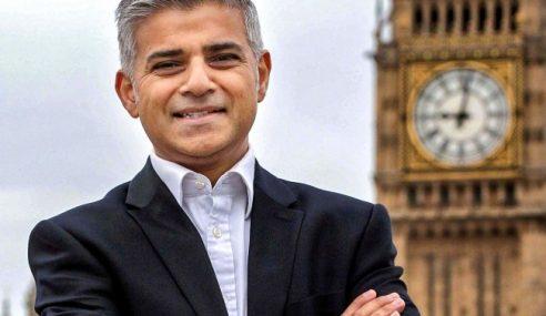 Khan Muslim Pertama Jadi Datuk Bandar London