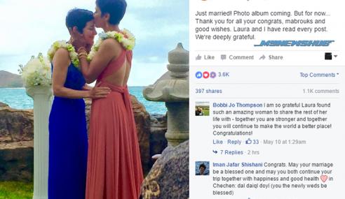 Irsyad Manji Pejuang LGBT Kahwin Dengan Pasangan Sejantina