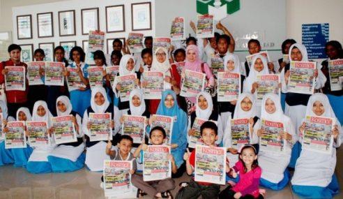 Kosmo! Kini Akhbar Melayu No.1 Pintas Harian Metro