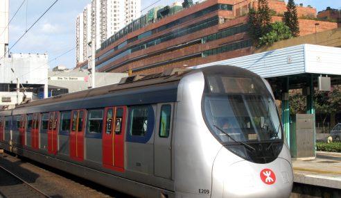 Tren MTR Hong Kong Terlewat Sebab Anjing Melintas