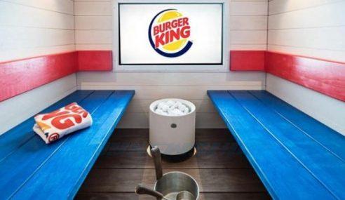 Burger King Ubah Ruang Makan Jadi Tempat Sauna