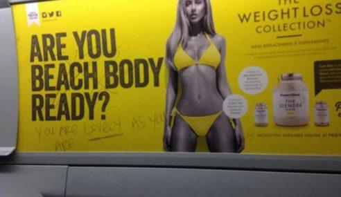 Datuk Bandar London Haramkan Iklan 'Badan Sempurna'