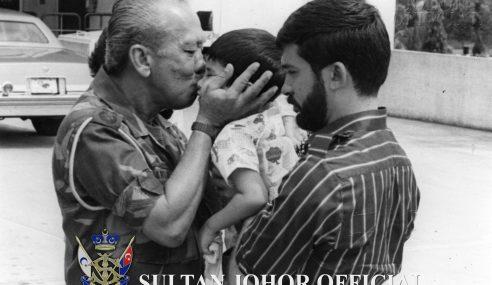 Pesanan 'Syahdu' Sultan Johor Sempena Hari Bapa