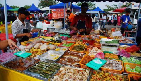 Pegawai Kesihatan Pahang Pantau Kebersihan Bazar