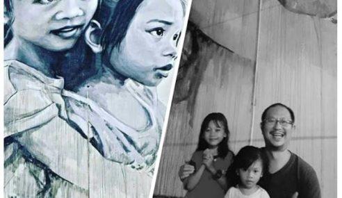 Mural 'The Loving Sister' Diiktiraf Terbesar Di Malaysia
