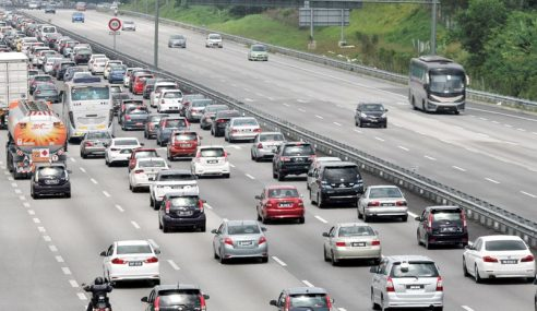 Aliran Trafik Di Lebuh Raya Utama Lancar Pagi Ini
