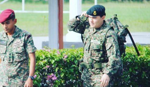 Raja Muda Selangor Sertai Batalion Ke-17 RAMD