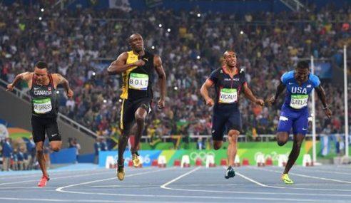Bolt Raih Emas Ketiga 100m Olimpik