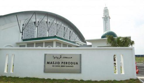 Siap Dibina, Masjid Perodua Rawang Sedia Digunakan