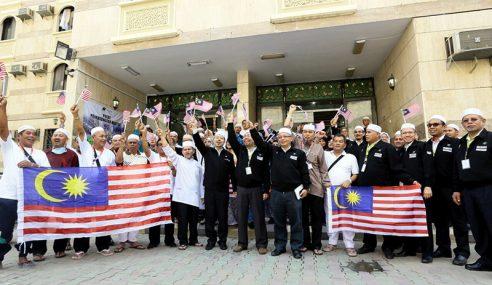 600 Petugas TH Di Makkah Sambut Hari Kebangsaan