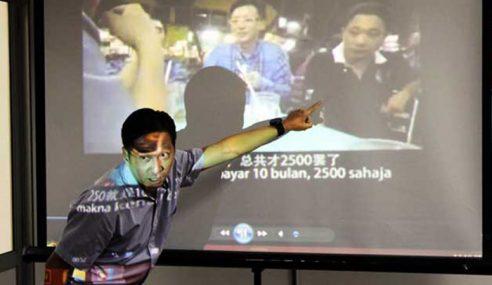 Gerakan Dedah Video Bapa ADUN DAP Terlibat Rasuah