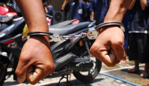 Curi Motor: Penganggur Dipenjara 12 Bulan