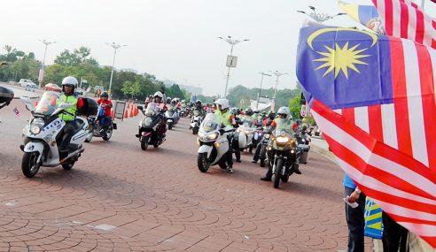 Konvoi Amal Merdeka 1WP Berkampung 3 Hari Di Lumut