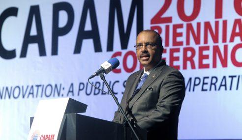 Ali Hamsa Dipilih Semula Sebagai Presiden CAPAM