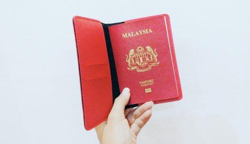 Tidak Boleh Guna Pasport Malaysia Yang Dilaporkan Hilang