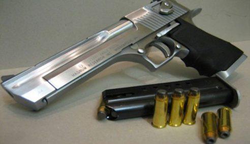 Polis Kelantan Rampas 3 Senjata Api Dalam Seminggu