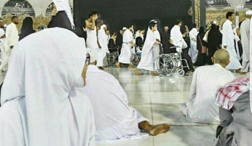 IG @tvalhijrah114: Momen Pertama Tunai Haji