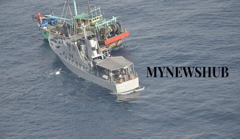 TLDM Bantu Lepaskan Nelayan Ditahan Pihak Berkuasa Indonesia
