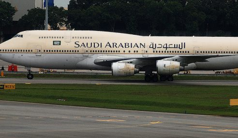 Kerana Silap Pilot, Pesawat Saudi 'Tersadai' Di Manila