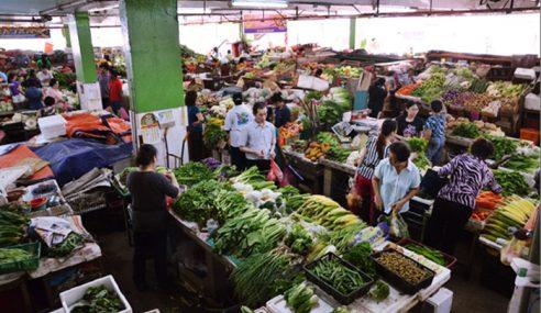 Pasar Super Kinta Mulai Sesak Menjelang Aidiladha