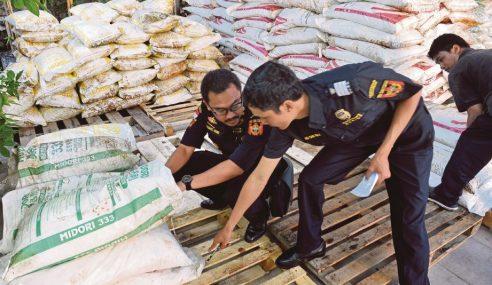 Kapal Malaysia Bawa Baja Ditahan