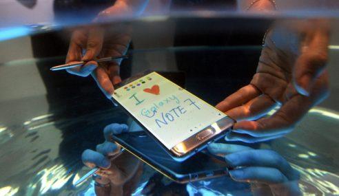 Samsung Gantung Semua Jualan Galaxy Note7