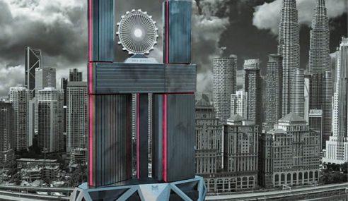 Roda Ferris Di Bumbung Menara Tarikan Kampung Baru