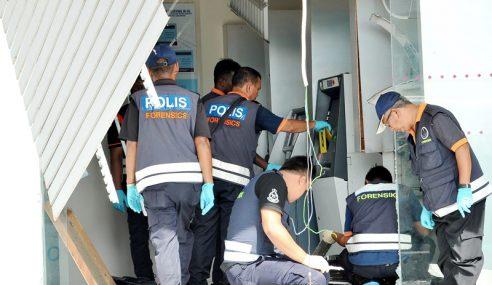Mesin ATM Diletup, RM260K Lesap Di Dungun